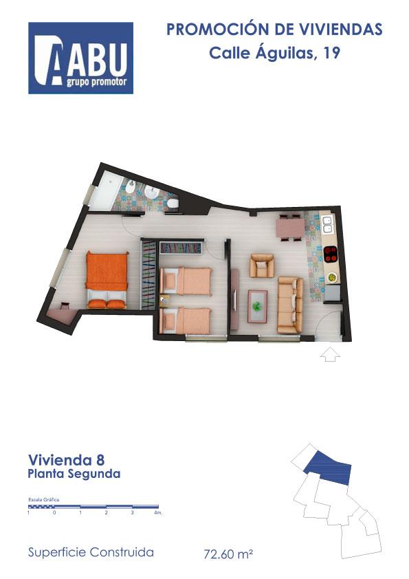 Calle Águilas - Viviendas en Sevilla