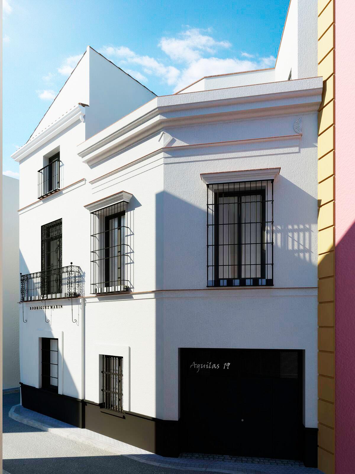 Viviendas en Calle Águilas - La Alfalfa - Sevilla