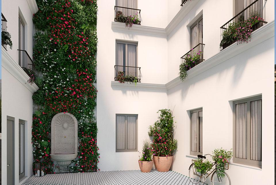 Viviendas en Plaza del Salvador - Sevilla