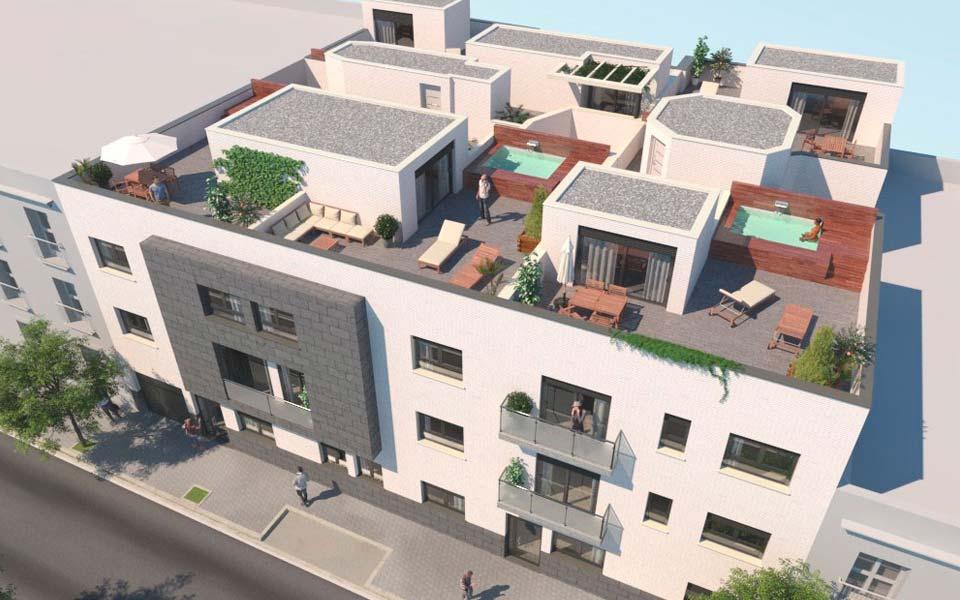 Promoción de pisos en La Macarena - Sevilla - Avda. Cruz Roja
