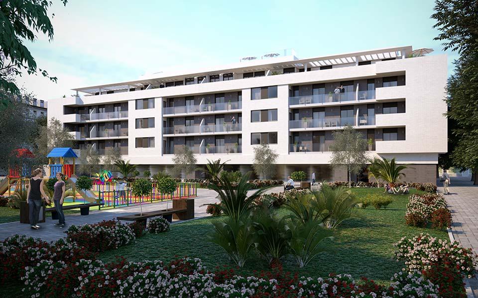 Promoción inmobiliariade pisos en Triana