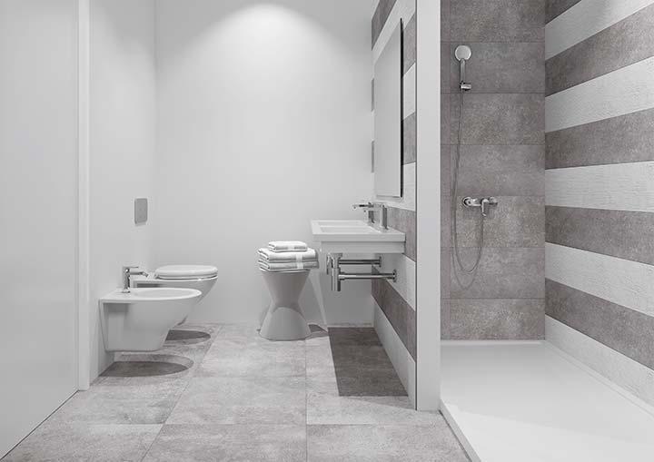 """Promoción de adosados en Huelva """"La Florida"""" - Modelo de baño"""