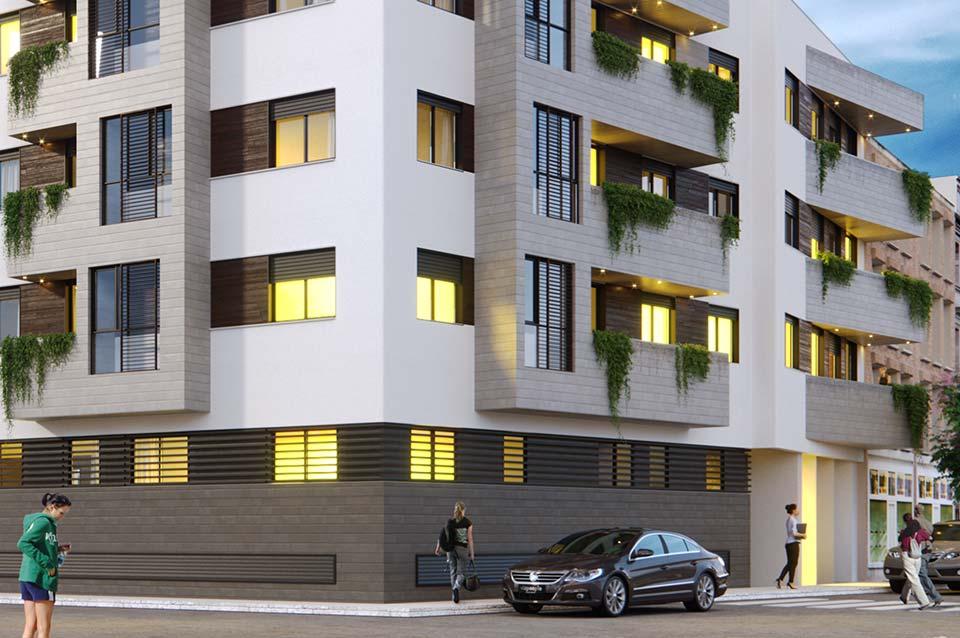 Promoción Inmobiliaria ABU Capuchinos (Sevilla) - Vista exterior 3