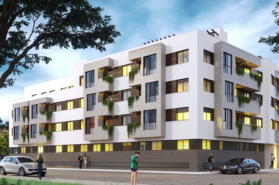 Promoción Inmobiliaria ABU Capuchinos (Sevilla) - Vista exterior 1