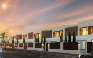 Promoción de casas adosadas en huelva Grupo ABU