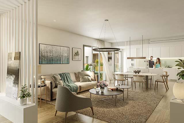 Interiores personalizados de viviendas en Triana - Sevilla