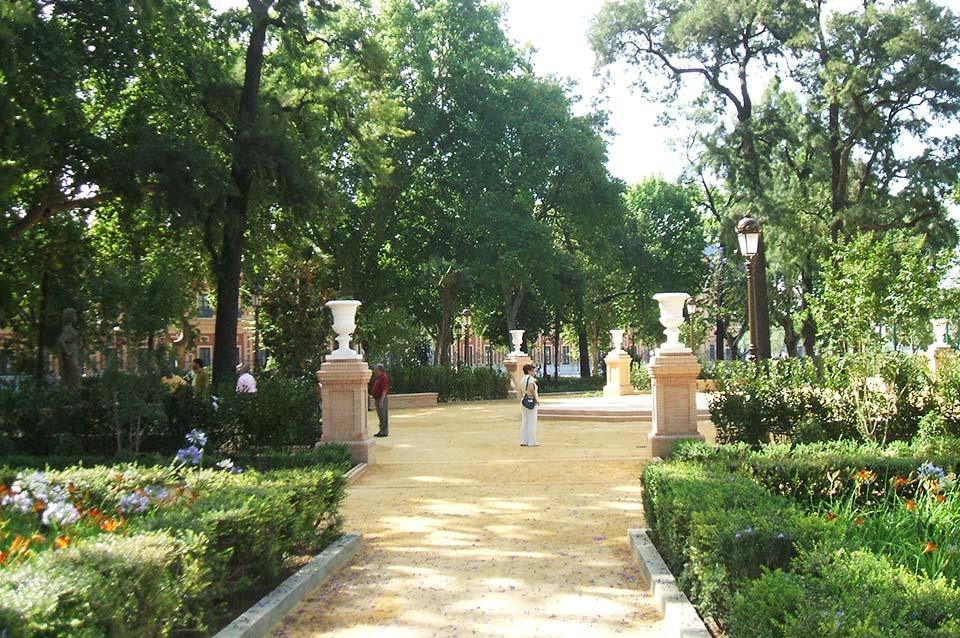 Jardines del Valle - Ronda Capuchinos - Sevilla Centro