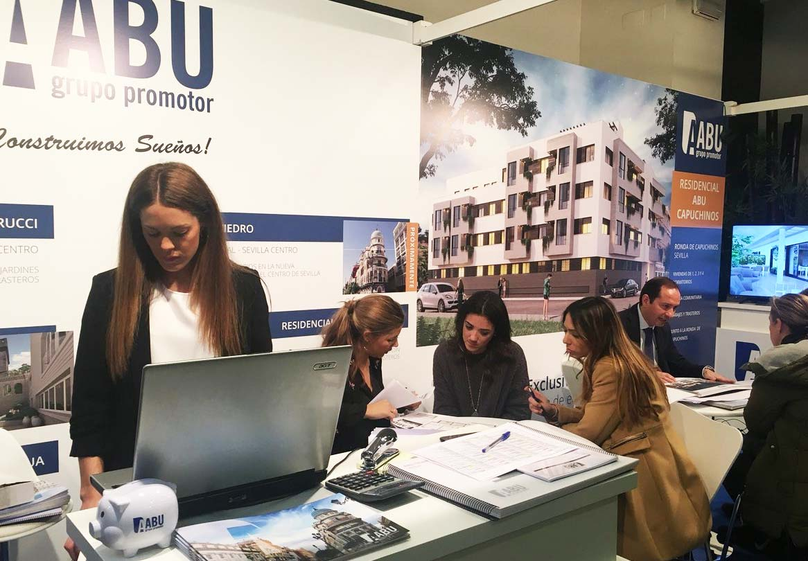 Grupo ABU en Welcome Home Sevilla - Salón inmobiliario