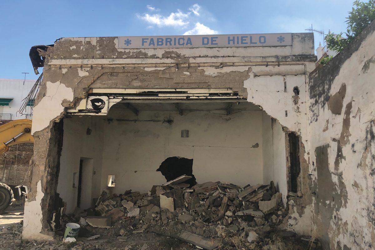 Demolición Rodrigo de Triana