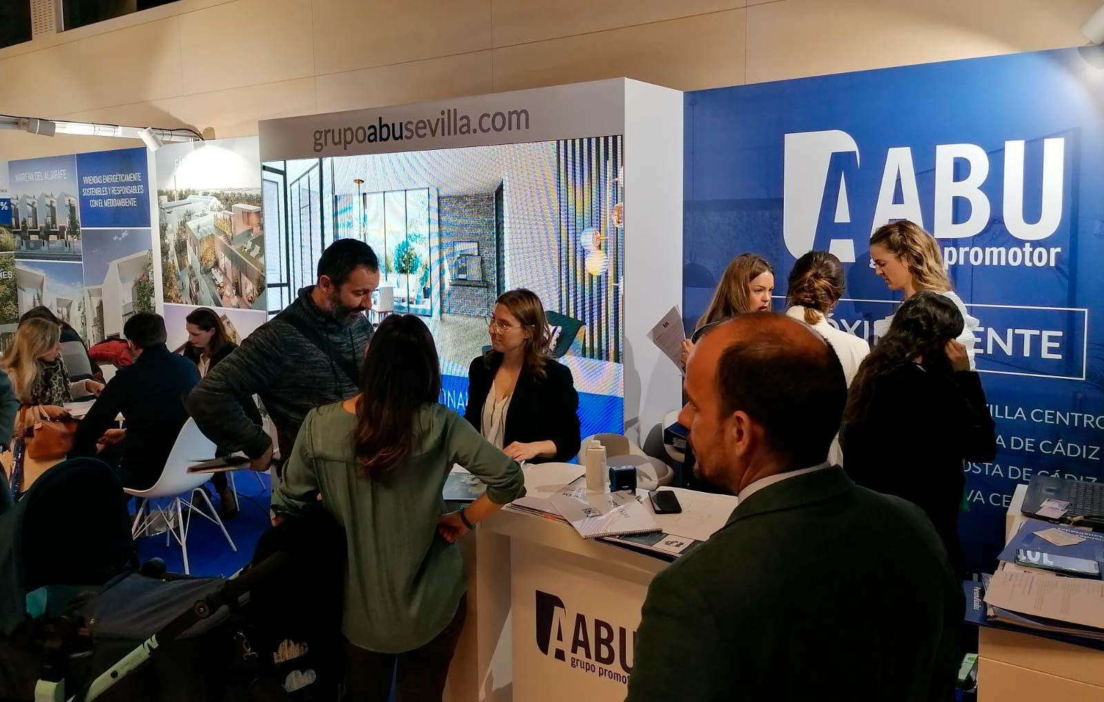 Grupo ABU en el Salón Inmobiliario de Sevilla 2020