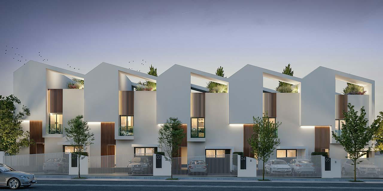 Promoción inmobiliaria ABU Mairena