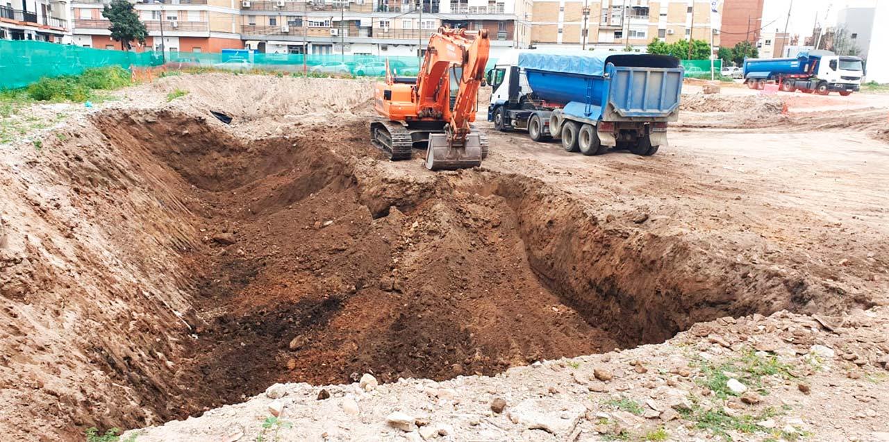 Comienzan las obras de viviendas en Triana