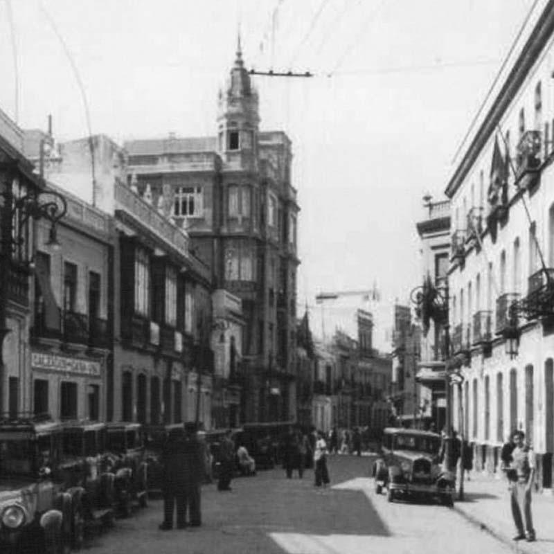 Calle Jesús Nazareno - Historia de Huelva
