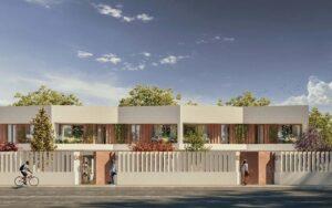Promoción de adosados de obra nueva en Huelva
