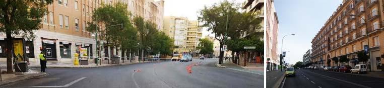 Ronda de Capuchinos con Carretera Carmona - Sevilla