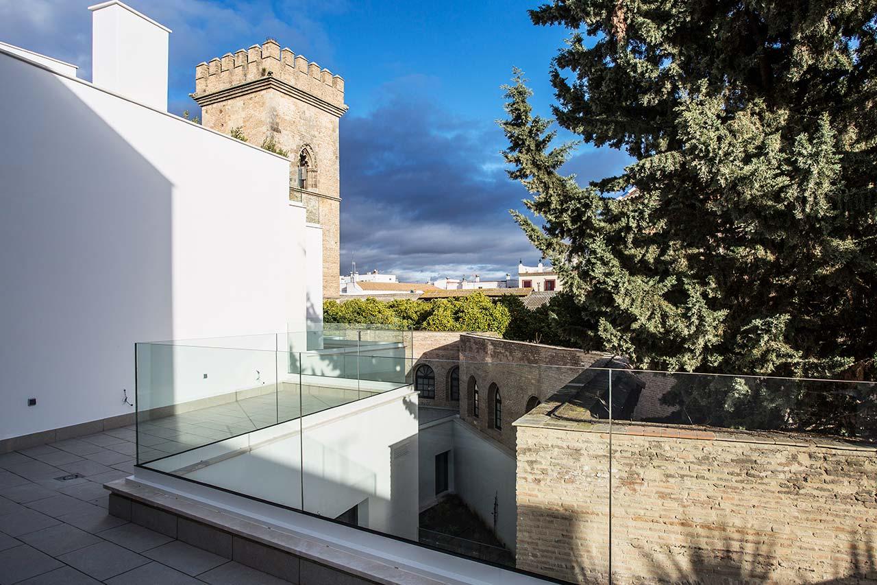 Terrazas privadas de la promoción de obra nueva en Santa Clara - Sevilla Centro