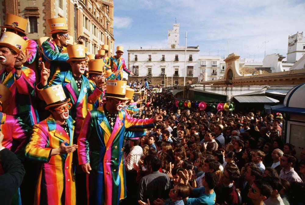 Chirigotas y comparsas en el Carnaval de Cádiz