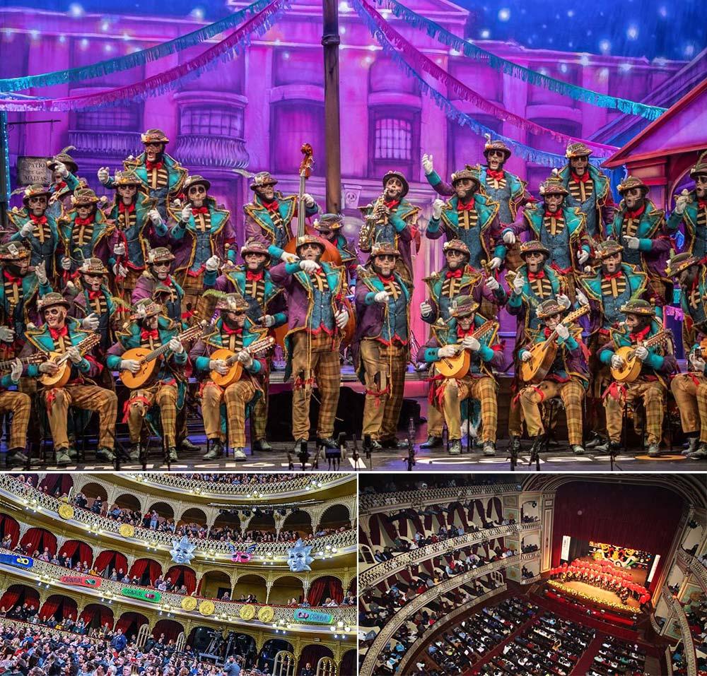 Carnaval de Cádiz en el Teatro Falla