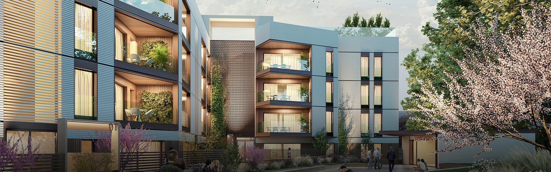 Promoción de viviendas de obra nueva en Nervión - La Buhaira - Sevilla Capital