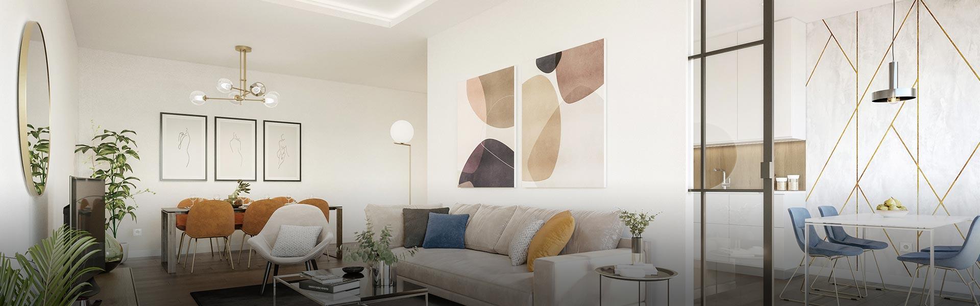 Interiores personalizados con calidades de primera