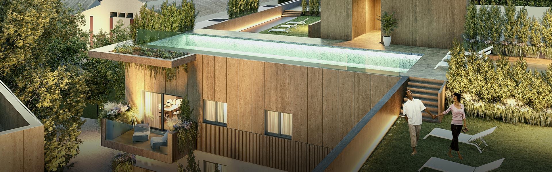 Pisos y áticos exclusivos en Sevilla con piscina comunitria y solarium en azotea