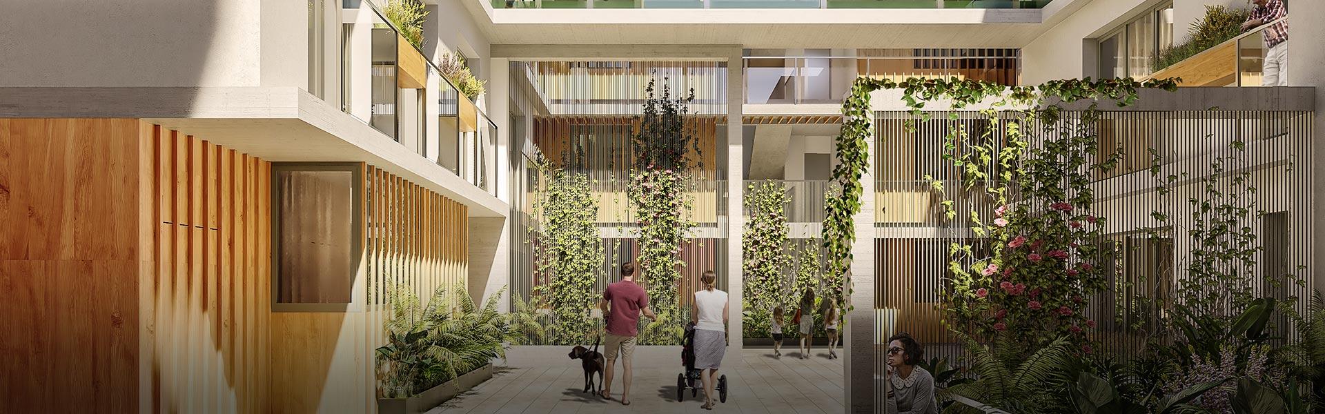 Promoción de viviendas de obra nueva en Triana: ABU Guadalquivir