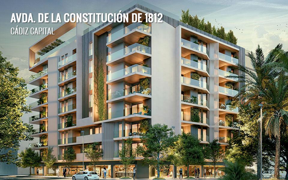 Promoción de viviendas en Cádiz Capital - Obra nueva en Avda. de la Constitución 1812