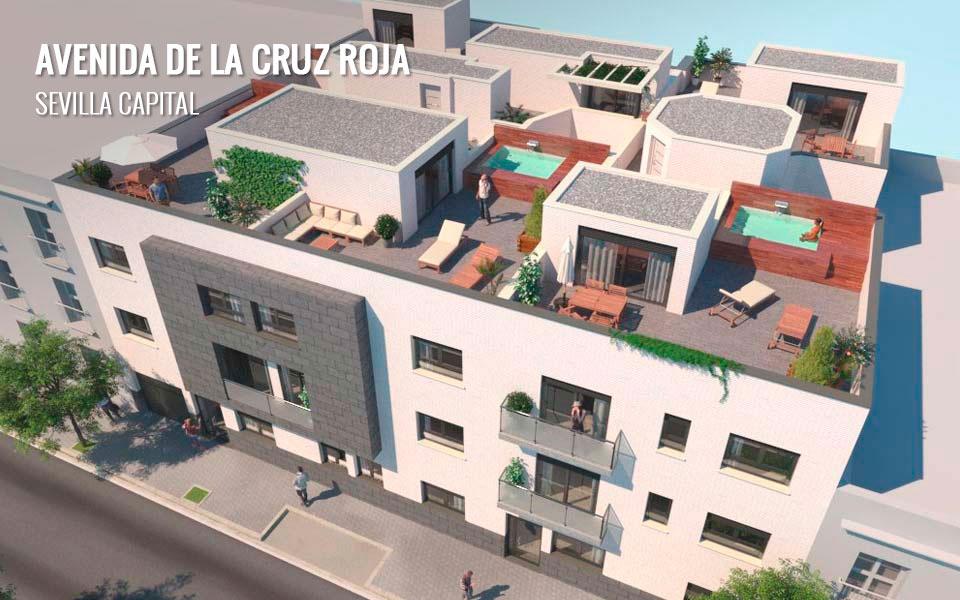 Promoción inmobiliaria en Avenida de la Cruz Roja - Sevilla