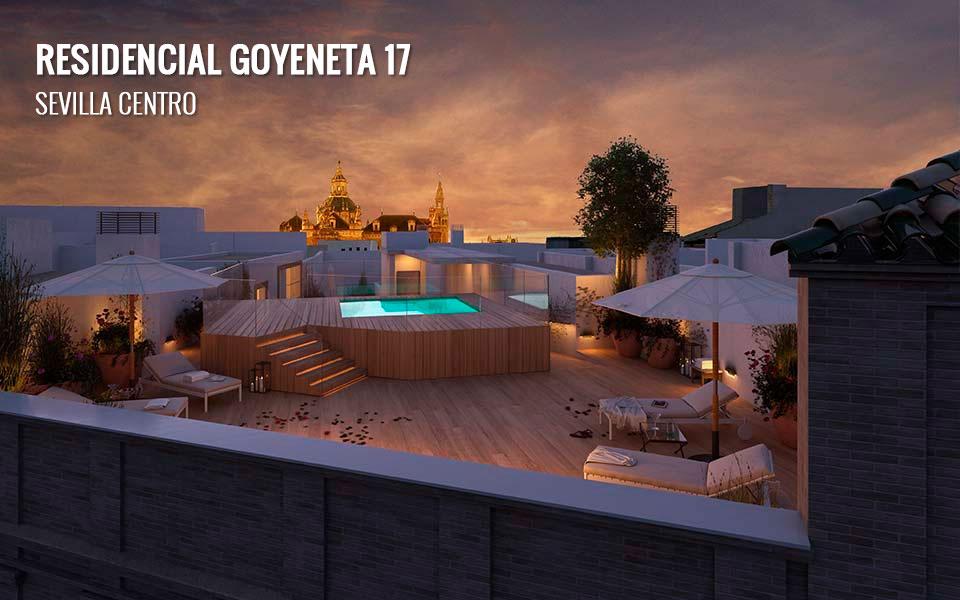 Promoción de obra nueva en el Centro de Sevilla: Goyeneta 17