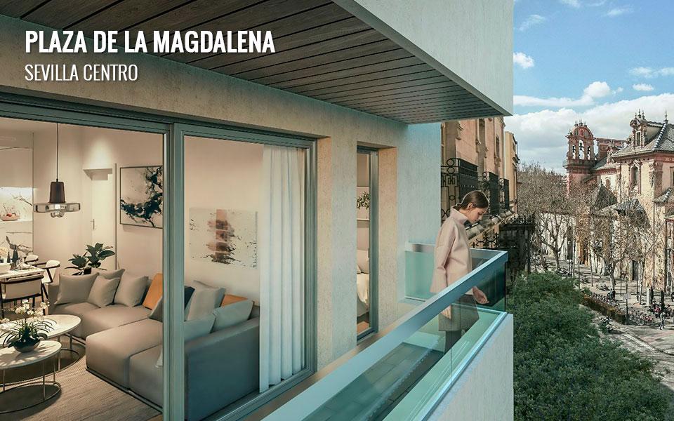 Promoción de viviendas exclusivas en Plaza de la Magdalena - Sevilla Centro