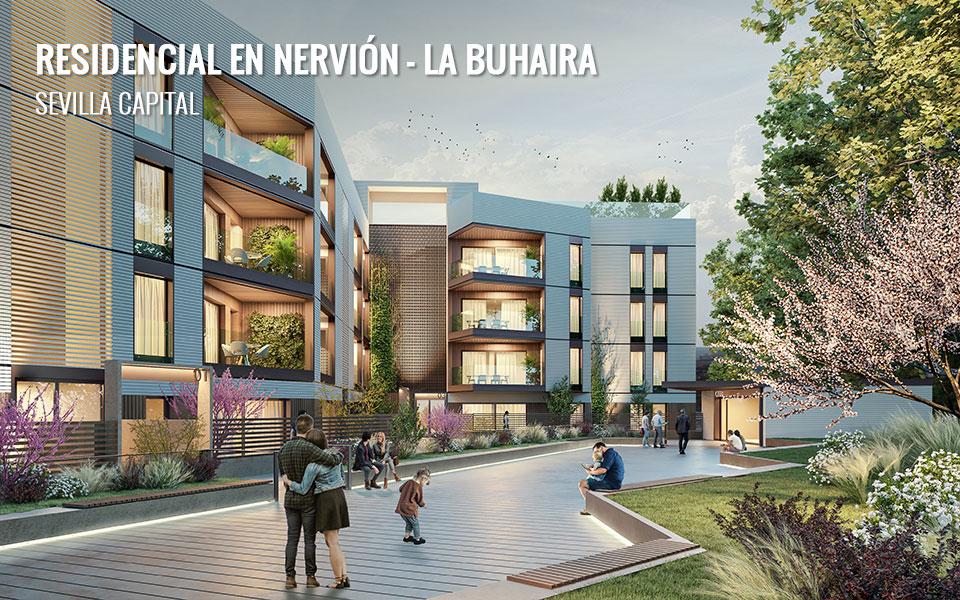 Promoción de viviendas de obra nueva en Sevilla - Nervión - La Buhaira