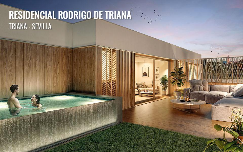 Promoción de viviendas de obra nueva en Triana, calle Rodrigo de Triana - Sevilla
