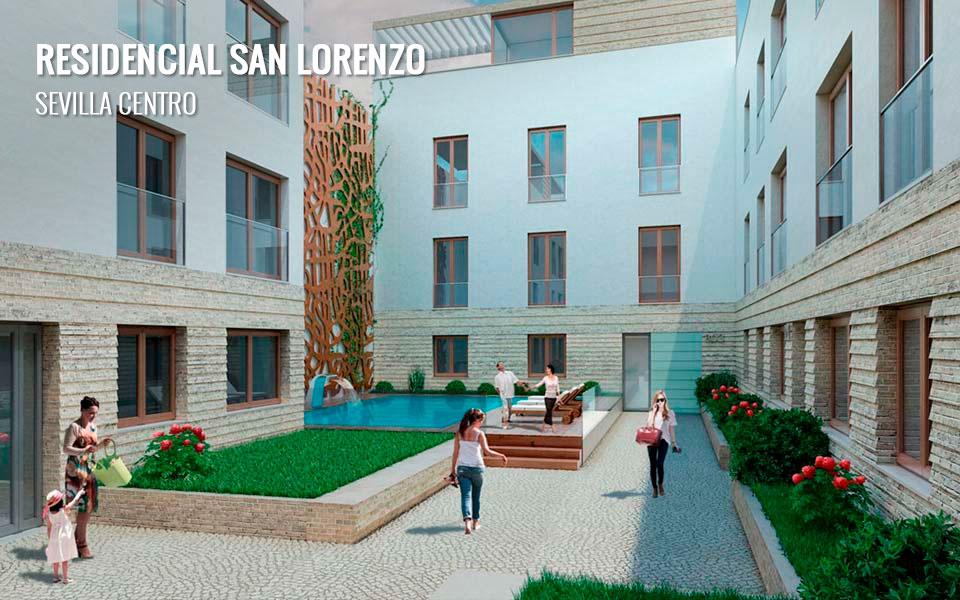 Viviendas de obra nueva en San Lorenzo - Sevilla Centro