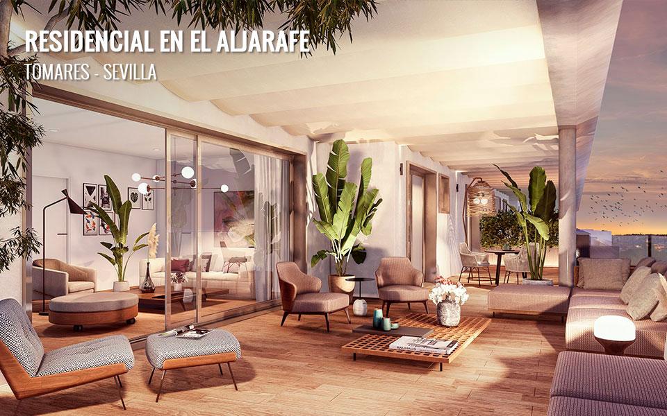 Promoción de viviendas de obra nueva en Tomares