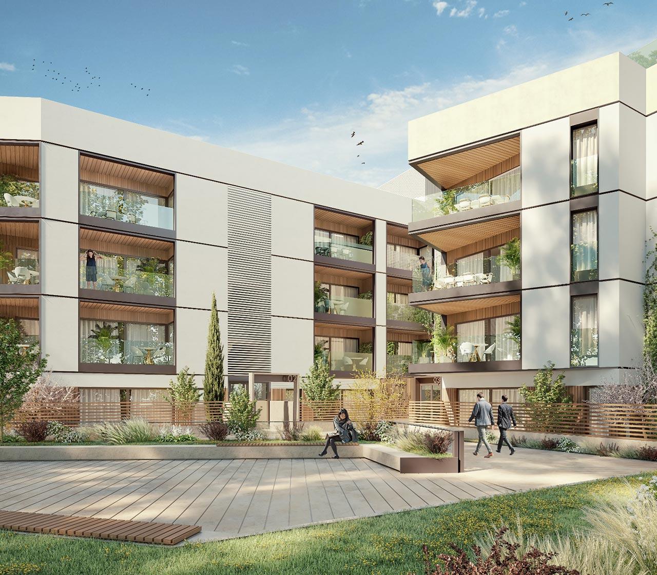 Promoción de viviendas personalizadas de obra nueva en Nervión - Sevilla