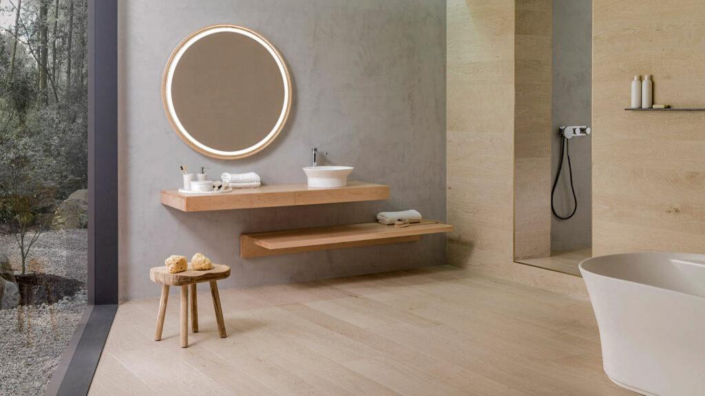 Ejemplos de interiores personalizados con Porcelanosa