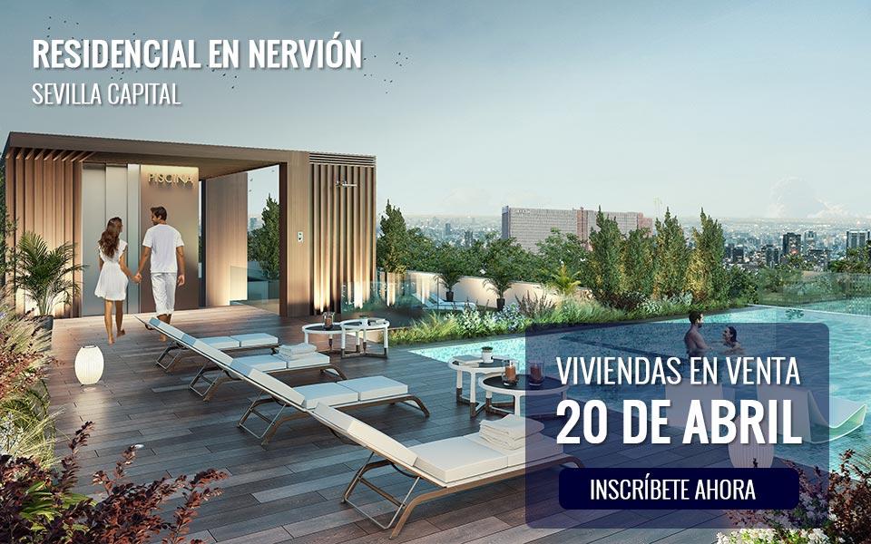 Viviendas en venta en Sevilla - Nervión a partir del 20 de abril