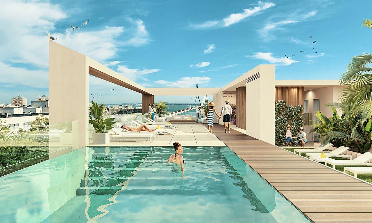 Promoción de obra nueva en Cádiz: ABU Las Cortes