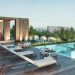Promoción de viviendas con piscina comunitaria en Sevilla - Nervión - La Buhaira