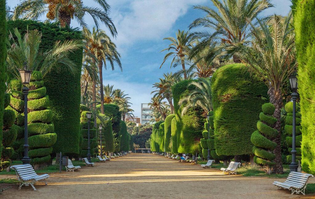 Parques en Cádiz