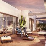 Viviendas de obra nueva en Tomares con terraza y piscina comunitaria