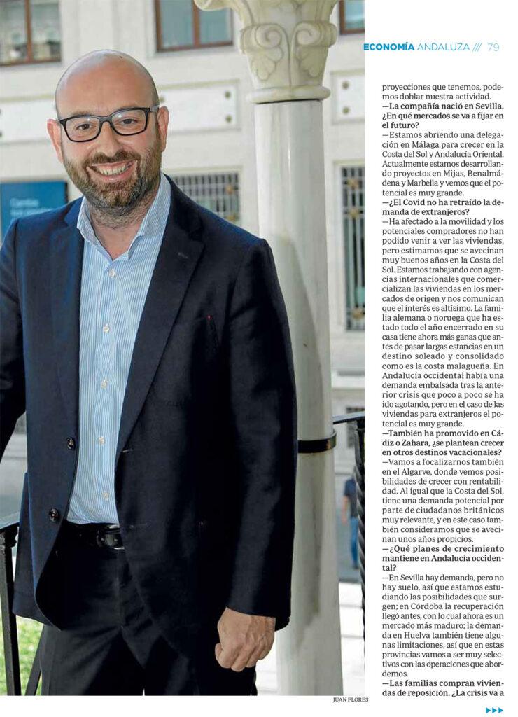 Entrevista a Jesús Vera, Presidente de Grupo ABU - ABC