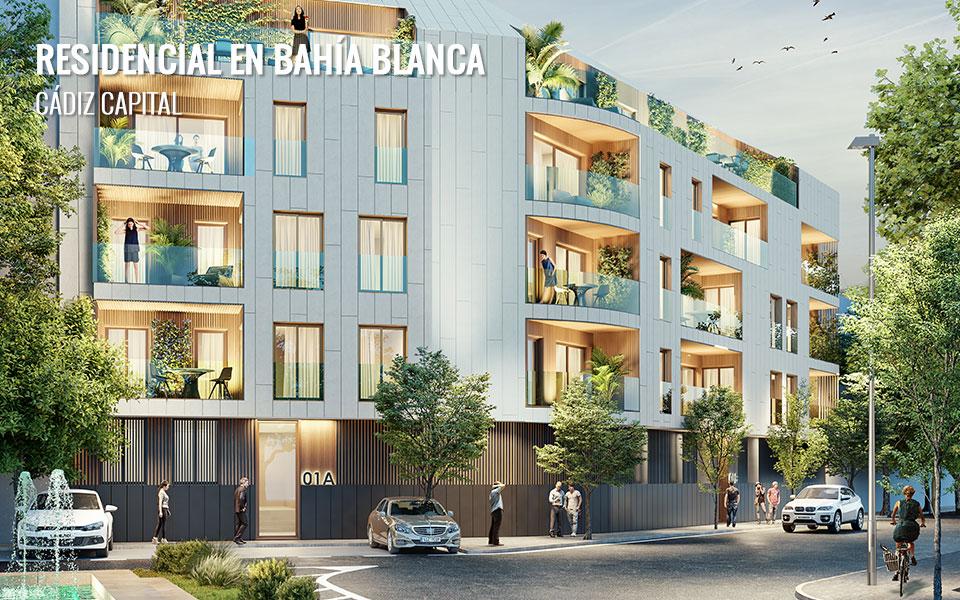 Promoción de viviendas en Cádiz Capital