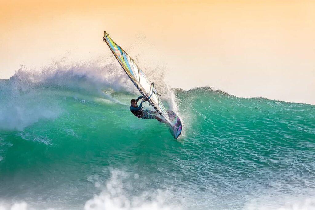 Windsurf en invierno