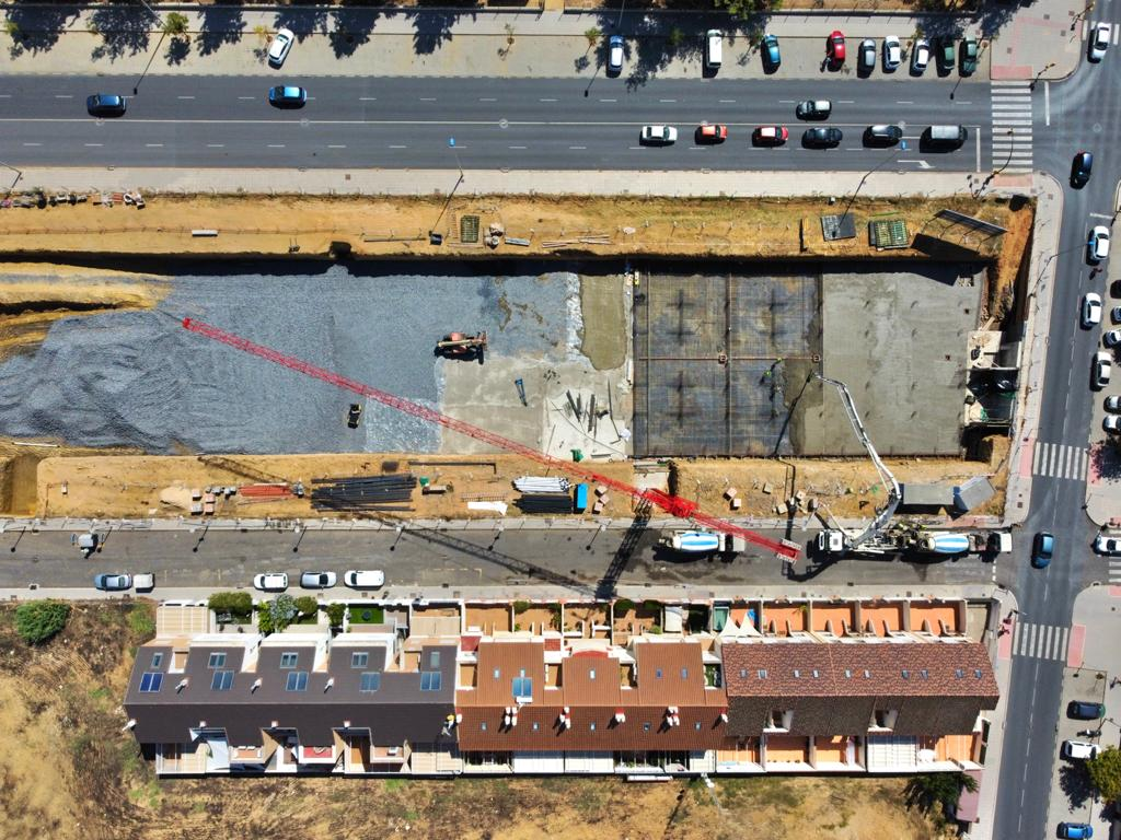 Construcción de viviendas unifamiliares en Huelva
