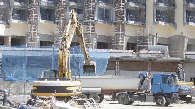 Sector de la construcción en Cádiz